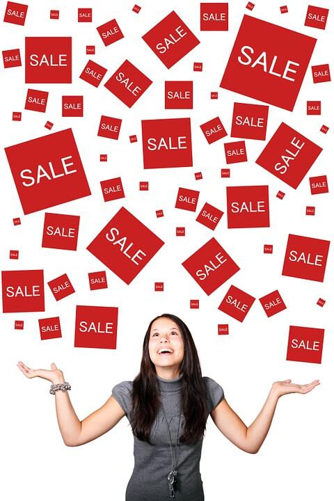 продажби, усмивки
