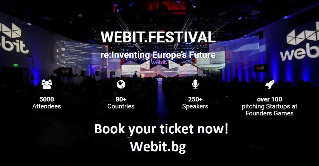 WEBIT, FESTIVAL, BULGARIA, STARTUPS