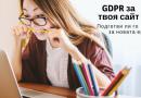 GDPR: Над 7 практични статии за изряден сайт
