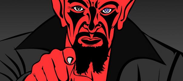 на гости, казва, Дяволът, гостува