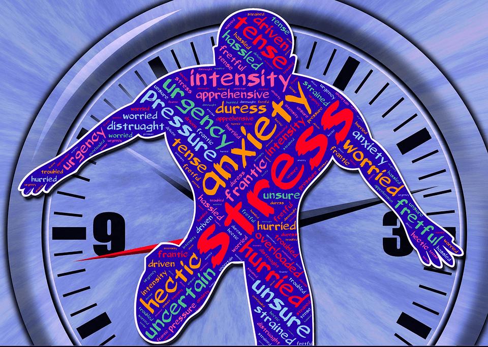 производителност, офиса, работно място, решение, справим, стрес