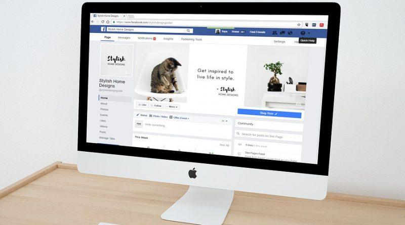 Facebook страница, бизнес, социални мрежи