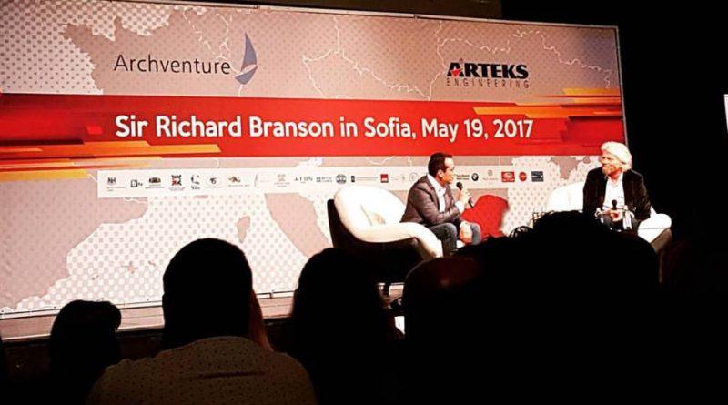 Ричард Брансън, България, бизнес, видео, лекция, предприемач