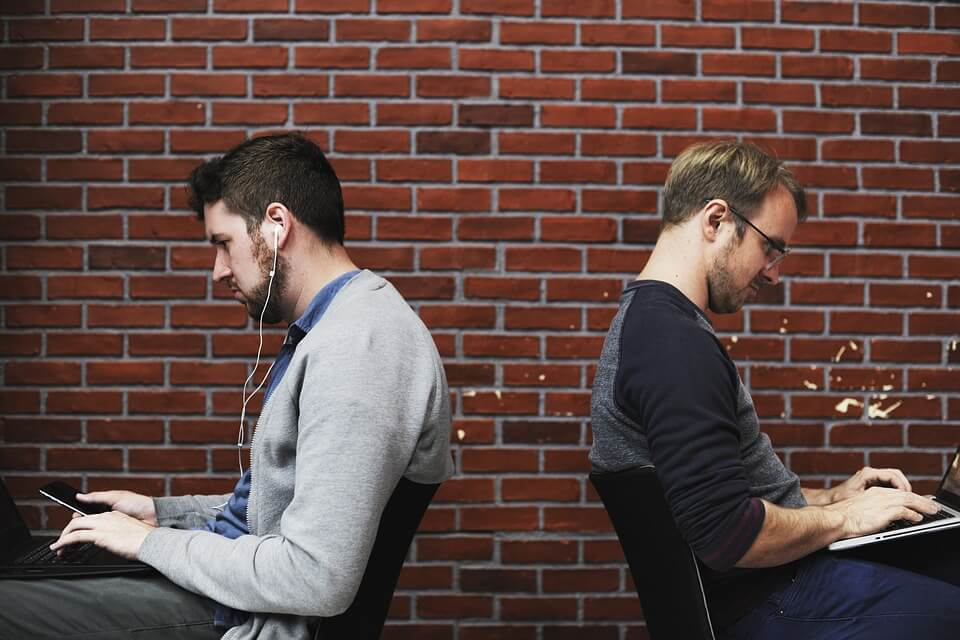 комуникацията, работно място