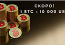 Прогнози за Биткойн: 10 000 долара за 1 BTC предстои! Кога да го очакваме?