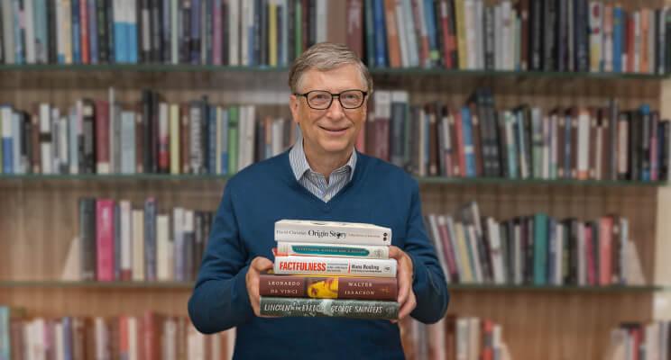 Бил Гейтс 5 книги които трябва да прочетем това лято