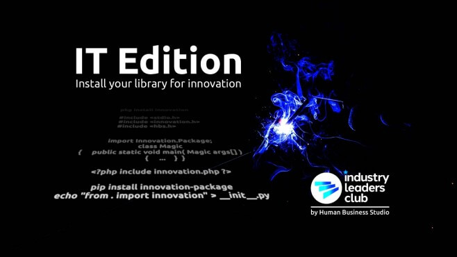 Специално за ИТ сектора IT Edition Install your Library for Innovation