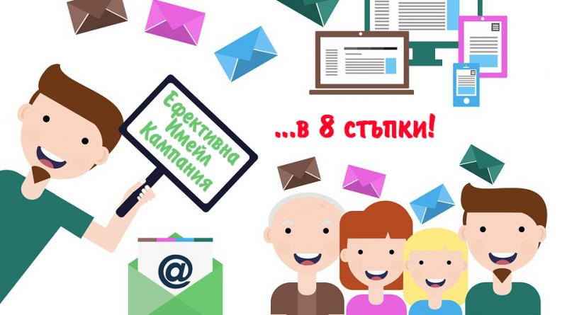Постигни ефективна имейл кампания в 8 стъпки