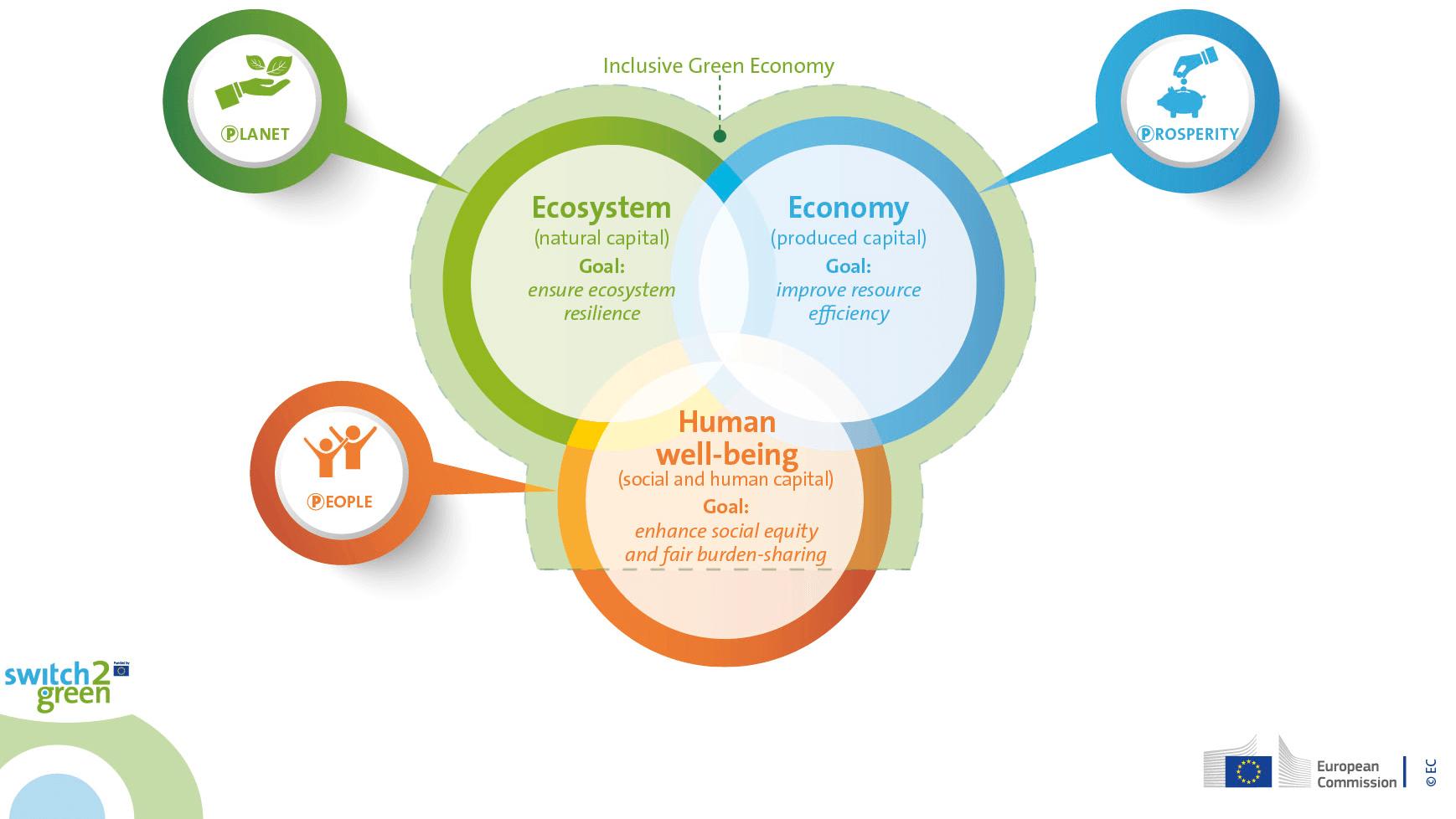 Каква е разликата между кръгова икономика и зелена икономика
