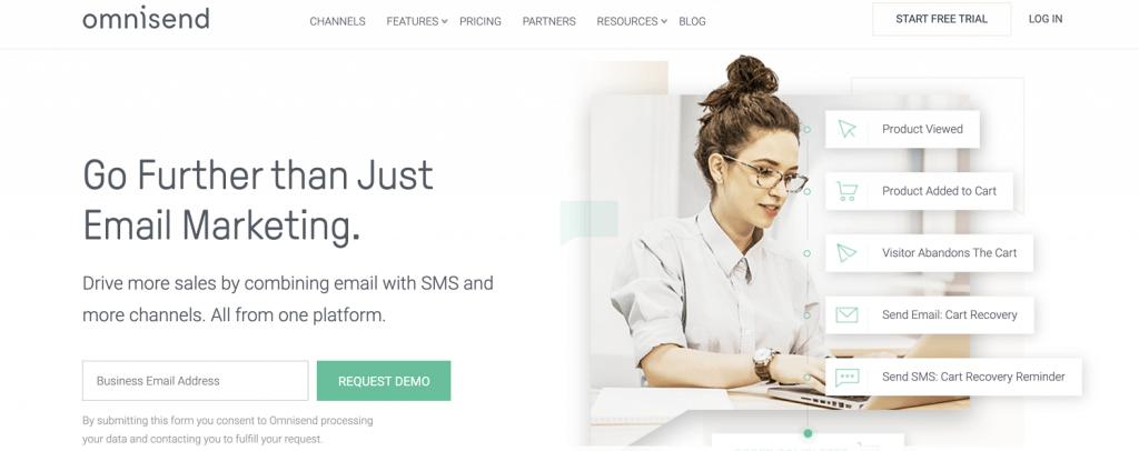 инструмент за имейл маркетинг Omnisend