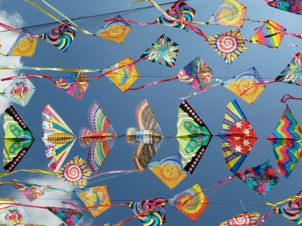 Растерно изображение с високо качество на хвърчила