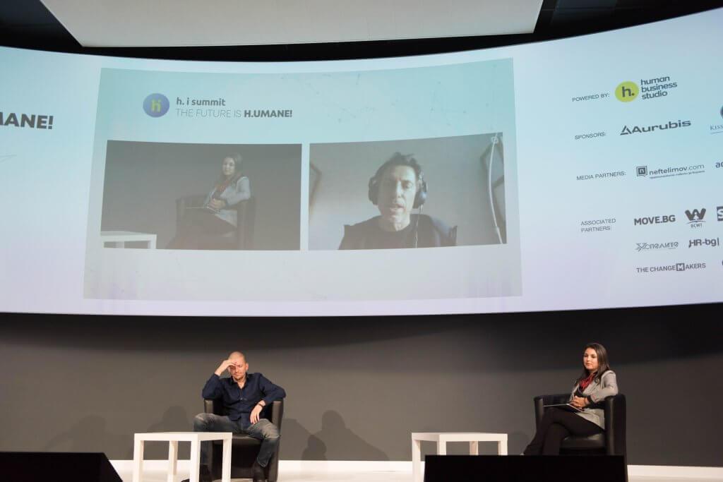 Галин Стоев и Димитър Касабов - режисьори и лектори в h. i. summit 2020