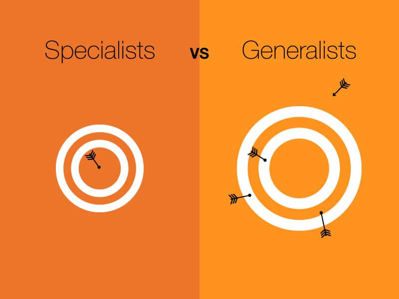 Генералисти VS Специалисти
