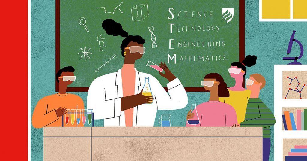 STEM в часове по химия